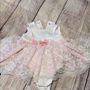 Ballerina onesie dress